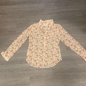 [Loft] Floral Blouse